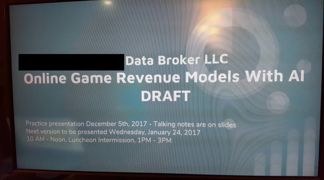 Game Revenue Models